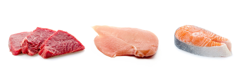Vollnahrungen mit Frischfleischzugabe